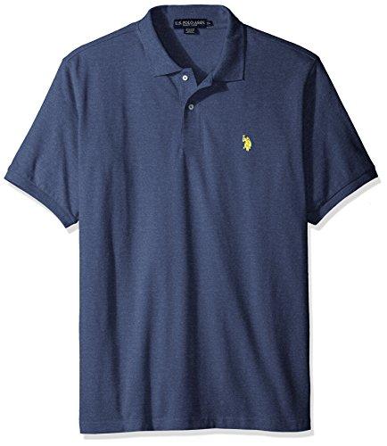 - U.S. Polo Assn. Men's Classic Polo Shirt, Navy Blue, M