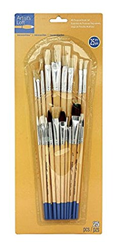 Artists Loft Necessities All-Purpose Brush Set