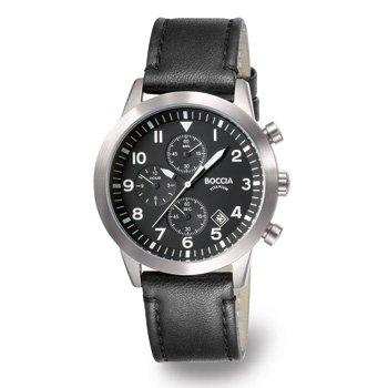 3772-01 Mens Boccia Titanium Watch with Chronograph