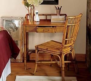 Amazon Com Pottery Barn Rattan Desk Home And Garden