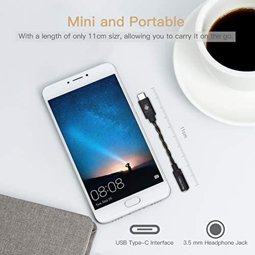 HIDIZS S3 Amplificador de Auriculares Portátil, USB C DAC ...