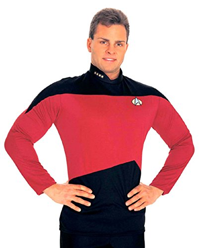 [Next Generation Shirt Costume - X-Large - Chest Size 44-46] (Star Trek Uniform Shirts)