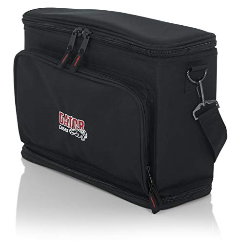 (Gator Cases Padded Carry Bag to Hold Shure BLX Style Wireless System with (2) Microphones and (2) Body Packs (GM-DUALW))