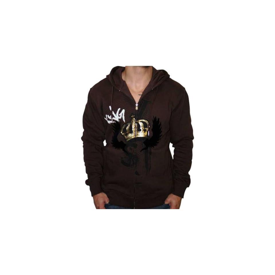 SEAN JOHN Mens Full Zip Cotton Hoodie Hoody Hooded Sweatshirt Jacket Shirt Clothing