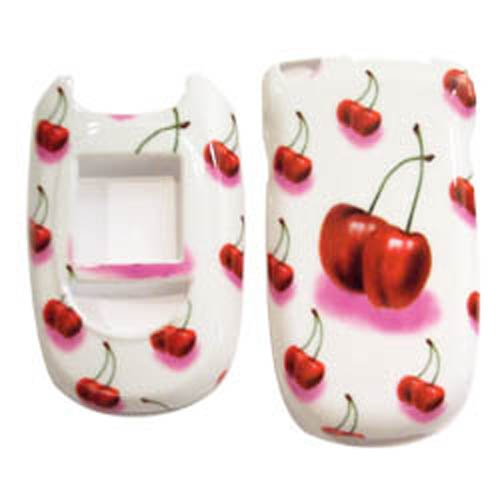 - Hard Plastic Snap on Cover Fits LG VX8300 Cherry