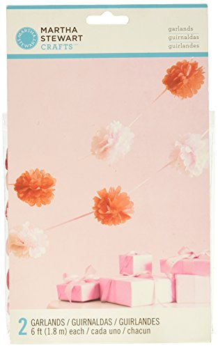Martha Stewart Crafts Girl Pom Garland