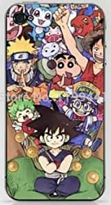 Custom Designs Dragon Ball Z Protective Case Cover for Apple Iphone 4 4S (WCA Designed)