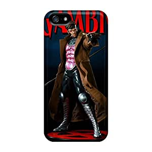 Iphone 5/5s Hgh4520TlZQ Support Personal Customs Trendy Gambit I4 Pictures Shock Absorption Cell-phone Hard Covers -KennethKaczmarek