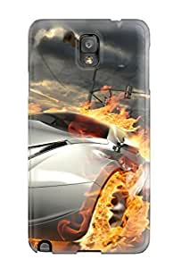 Brand New Note 3 Defender Case For Galaxy (destructive Car Race)
