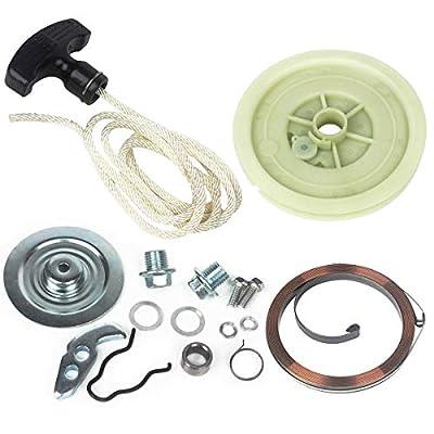 Wingsmoto Heavy Duty Recoil Pull Starter Repair Kit for Polaris Sportsman 500 1996 1997 1998 1999 2000 2002 2003 2004 2005 2011: Automotive