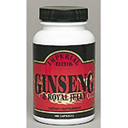Imperial Elixir Royal Jelly Ginseng 50 (Royal Jelly 50 Capsules)