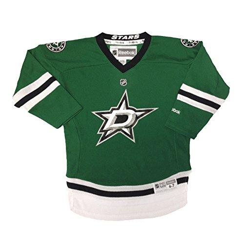 fan products of Dallas Stars Reebok Child Replica (4-6X) Home NHL Hockey Jersey Size Child (4-6X)