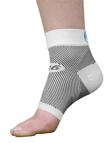 OrthoSleeve FS6 сжатия ног рукава (пара), белый, среднего