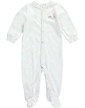Unisex Baby Graphic Footie (Baby) - Animals - 6 Months