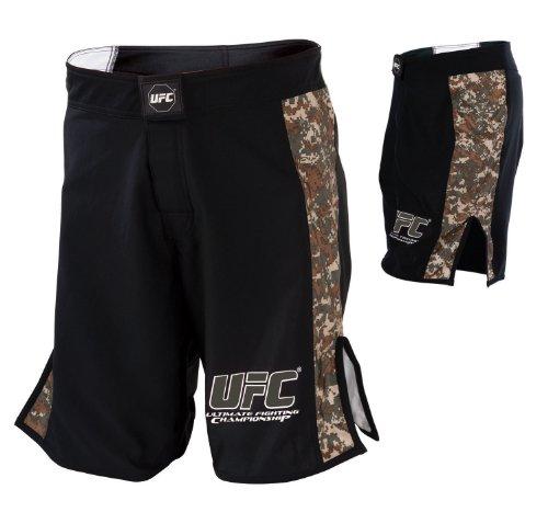 UFC Digital Camo Fight Shorts-Black/Army Green – DiZiSports Store