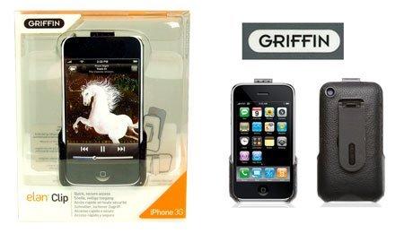 Griffin Elan Clip (Griffin- Elan Clip Leather Iphone 3g Case)