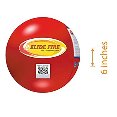 Elide Fire Ball, Self Activation Fire Extinguisher, 2020 New Version, Boat Extinguisher, Car Extinguisher, Fire Safety Product, Elide, 5 Year warranty