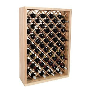 Individual Diamond Rack (Vintner Series Wine Rack - Individual Diamond Bin -Redwood Midnight)