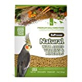 ZuPreem AvianMaintenance Natural Bird Diet for Cockatiels, 2.5 lbs., My Pet Supplies