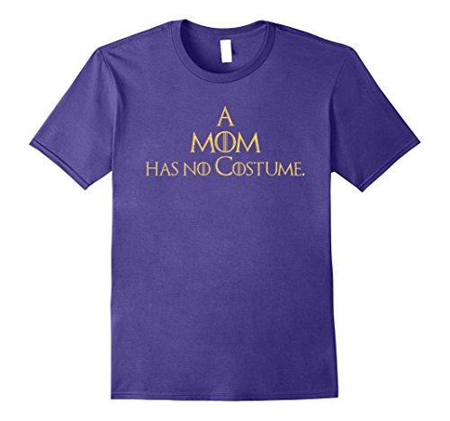 Mens Easy Last Minute Halloween Costume Shirt for Moms GoT Tee 2XL Purple - Easy Last Minute Diy Halloween Costumes For Men