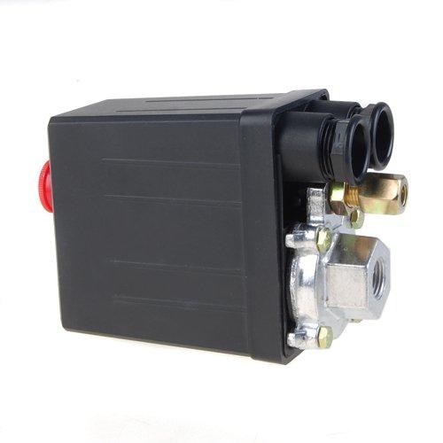 lovoski Presostato Aire Compresor, interruptor de presión, Repuesto 175PSI 12 Bar: Amazon.es: Bricolaje y herramientas