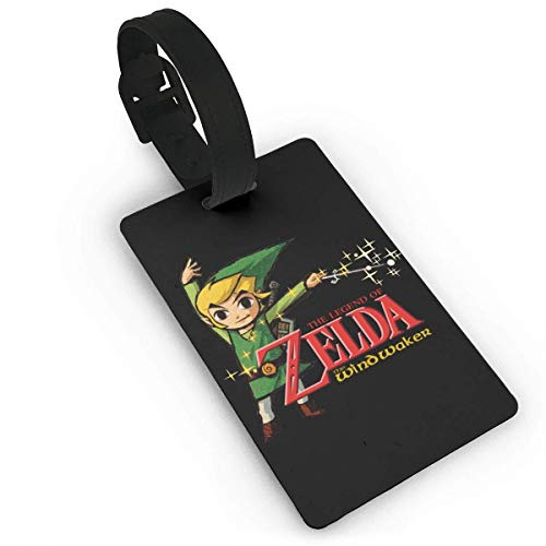 (Makayla Riley The Legend Of Zelda Wind Waker HD Funny Luggage Tag Initial Bag Tag Suitcase Tag Travel Bag,Travel Accessories Suitcase Tags)
