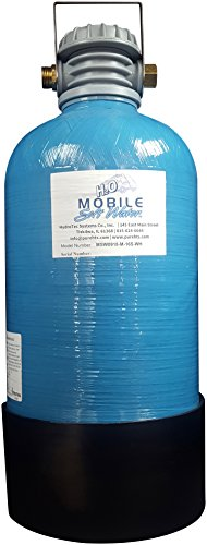 - Premier 16,000 Grain Mobile-Soft-Water RV, Portable Softener, with Lead Free Brass Connections, for RV, Car Wash, Boating and Home use. with 4ft Hose, Test Strips and 'Y' Valve