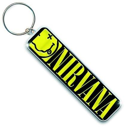 Nirvana - Keychain - Keyring 8cm Smiley