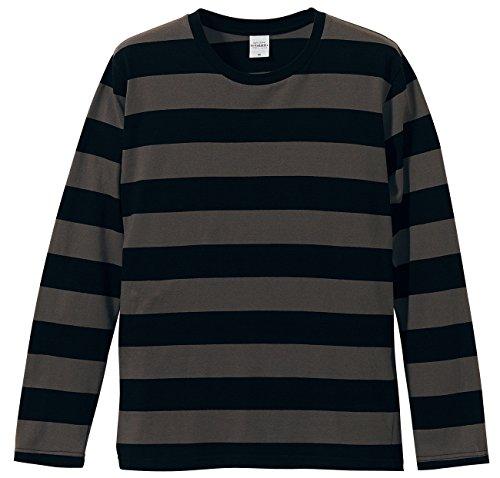 政治的ユーザー保護(ユナイテッドアスレ)United Athle 長袖 ボールドボーダーTシャツ5.0oz 【3colors/S~Lサイズ】