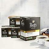 Peet's Coffee Decaf House Blend, Dark Roast, 96