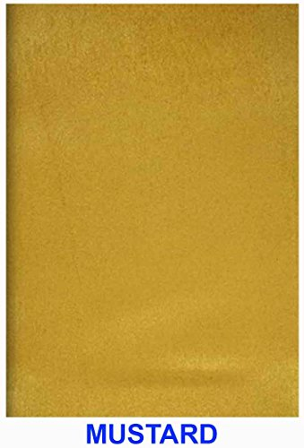 Mustard Suede Vintage Microsuede Fabric Upholstery Drapery Furniture Cover & General Use Fabric 58/60