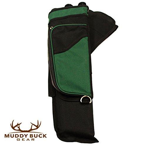 Muddy Buck Gear 3 Tube Hip Quiver Blk/Hunter Green Blk Green