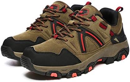 マウンテンシューズ メンズ 登山靴 シューズ ブーツ カジュアル 通気性 ハイキング 滑り止め 靴 スリッポン ランニング ウォーキング ファッション ハイキングシューズ ブラック グレー ブラウン 27.5cm