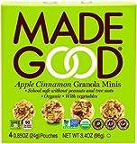 mini apples - Made Good Granola Minis Apple Cinnamon, 24 gram, (Pack of 6)