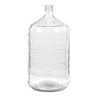 Amazon Com Intelligent Design Retro 5 Gal Glass Water Jug