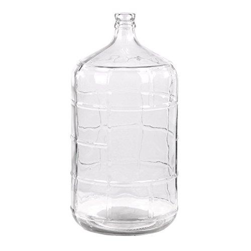 5 gallon clear water jug - 6