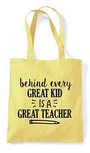 Tote Teacher Kid Great Statement Bag A Behind Shopper Is Lemon Every CwqUSFxUB0