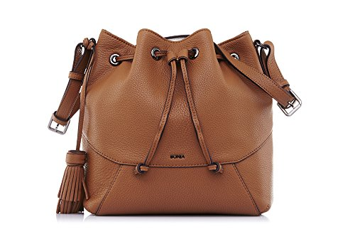 bonia-womans-brown-classic-bucket-bag