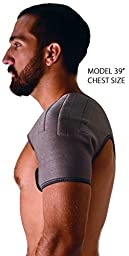 NatraCure Neoprene Magnetic Shoulder Wrap (A9805-MAG)