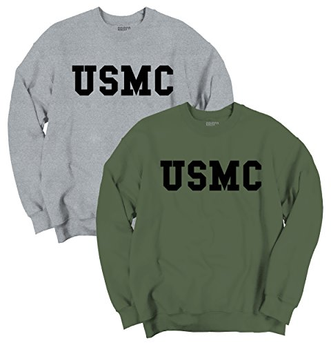 United States Marine Corp Armed Forces Logo Crewneck Sweatshirt
