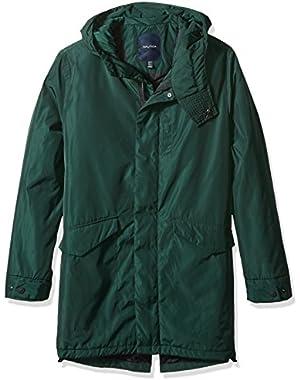 Men's Hooded Lightweight Parka Jacket