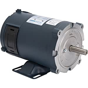 Leeson 12 volt dc motor 1 3 hp 1750 rpm model 108046 for 3 hp dc electric motor