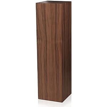 Amazon Com Xylem Design Pedestal Source Wood Pedestal