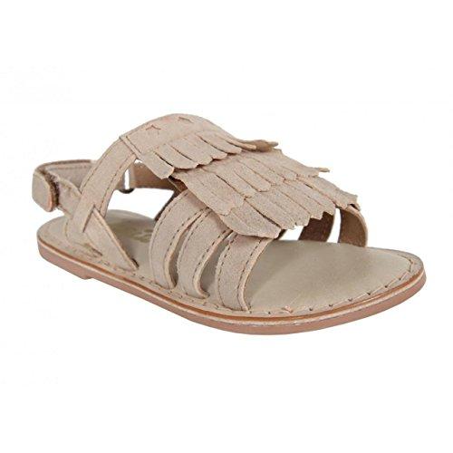 Cheiw Sandalen Für Mädchen 47115 Suede Beige Schuhgröße 34