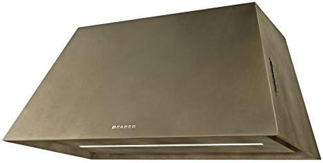 Faber - Campana extractora de pared con acabado de latón de 70 cm: Amazon.es: Hogar
