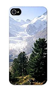 Hot Piz Bernina, Moteratsch Glacier, Engadine, Switzerland First Grade Tpu Phone Case For Iphone 5/5s Case Cover