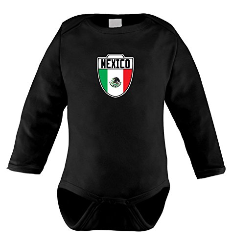Mexico Mexican Soccer Sleeve Bodysuit