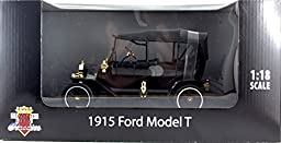 1915 Ford Model T Touring Diecast Collectible Tin Lizzy Car Replica Toy
