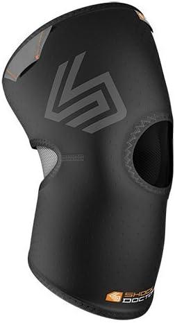 ShockDoctor Erwachsene Knie Kompressionsbandage mit Patellaöffnung
