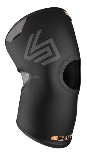 Shock Doctor Knee Compression Sleeve (Black, Medium)